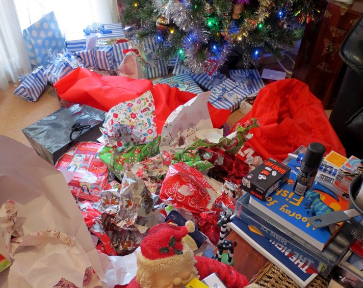 Recycling Your Post-Holiday Mess